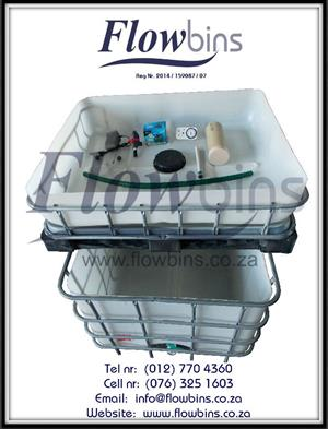 Gauteng: Aquaponics complete starter kits - Growbed, Fish tank, Water & Air pump, Fittings & Piping