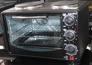 Diamond 2 plate stove with oven S032174A #Rosettenvillepawnshop
