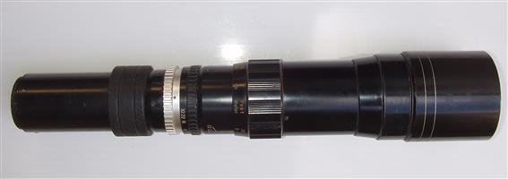 TOKYO KOKI TELE -  TOKINA 1:6.3 400mm Lens No. 52587