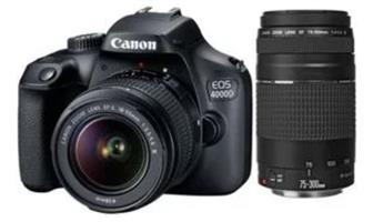Canon D500 plus free zoom lens and free carrier bag.