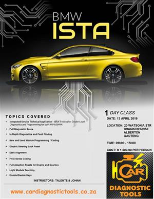 BMW ISTA Training Seminar | Junk Mail