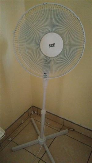 SCE Standing Fan 2 months old