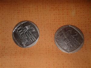R2 union building coins for sale  Mthatha