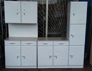 Brand New 3 Piece Steel Kitchen Cupboard Set.
