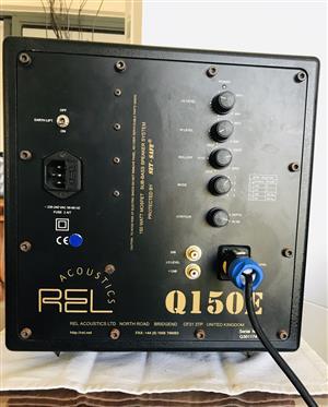 REL Acoustics Q150E Powered Subwoofer