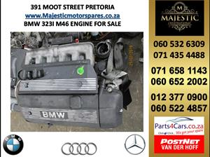 Bmw 323i m46 engine for sale