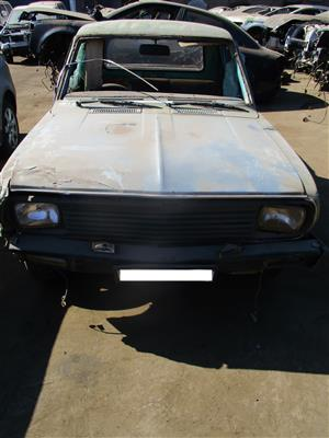 NISSAN 1400 SALVAGED BAKKIE STRIPPING FOR SPARES