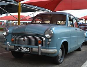 1953 Ford Consul 1500