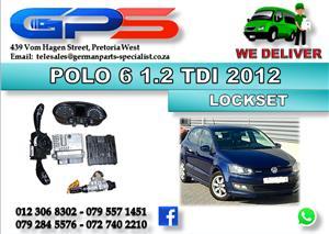 Used VW Polo 6 1.2 TDI Bluemotion 2012 Lockset for Sale