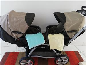 Peg perego twin complete travel system with extras