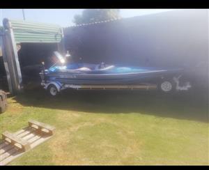 Speed boat to swop