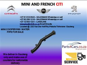 Mini cooper r60 water pipe for sale