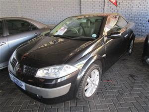 2005 Renault Megane Coupe Megane coupe 1.6 Expression