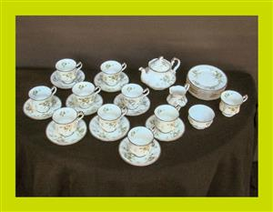 32 Piece Part Royal Albert Paragon First Love Tea Set - SKU 822