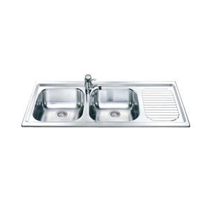 DOUBLE DROP IN SINK 1.2m * 500mm