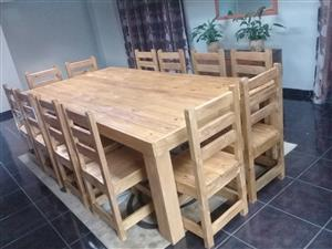CHAMPIONS IN WOODEN DINNING TABLES AND  CHAIRS