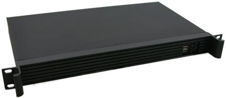 CSF125 1U Rack Mount Case With No PSU For ITX