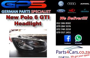 New VW Polo 6 GTI 2010-2015 Headlight for Sale