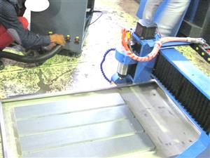 R-4060DIY/22 EasyRoute 400x600 2.2kW DIY CNC Router, 220V, Water Cooled Spindle, Clamping