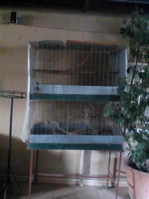 Parrot cage, display cabinet and Icemaker for sale