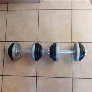 Trojan 25 kg Dumbbell set