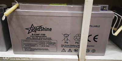 Gold Shine Battery (150Ah) For Sale
