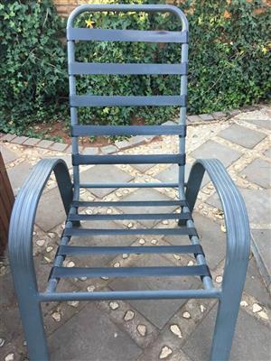 Patio chair.