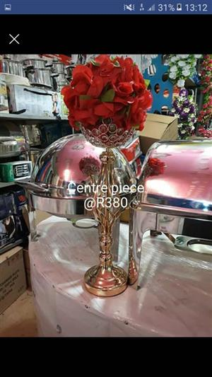Red flower centerpiece for sale