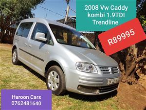 2008 VW Caddy Trendline CADDY 2.0TDi TRENDLINE