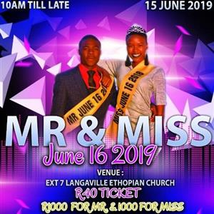 MR AND MISS JUNE 16 2019