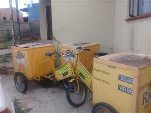 Vending tricycles
