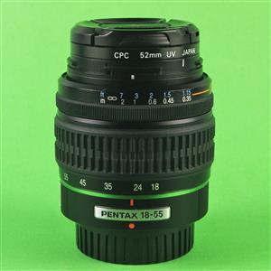 Pentax lenses x2