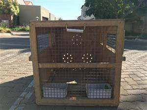 Wooden Dog Travel Crate