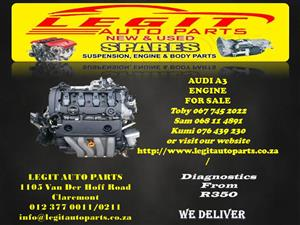 AUDI A3 ENGINE FOR SALE