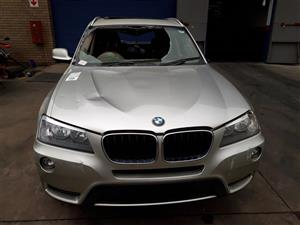 2012 BMW X3 xDRIVE 20d LUXURY LINE (G01) Accident Damaged