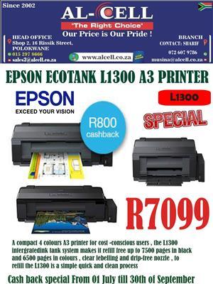 Epson L1300 Ink Tank A3 Printer