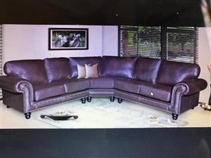 Brand new from the factory corner unit pure leather