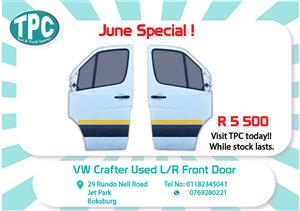VW Crafter Used L/R Front Doors  for Sale at TPC