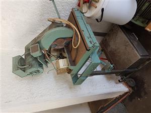 Aluminum cut off saw