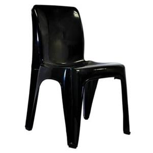 Derby Plastic Chairs Black for sale