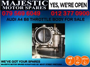 Audi A4 B8 used throttle body for sale