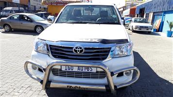 2013 Toyota Hilux 2.5D 4D SRX