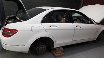 Mercedes Benz w204 2010  with 271952 engine and auto gearbox  Stripping for spares