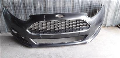 Ford Fiesta Ecoboost Front Bumper  2013-2017