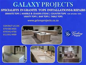 Granite Tops Installation
