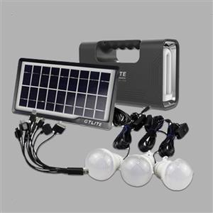 Load Shedding Solar Charging 6 Piece Kit