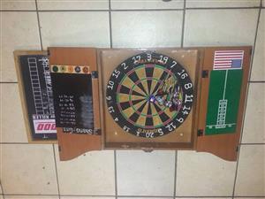 Dartboard met klomp ekstras
