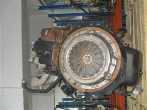 2001 TOYOTA LAND CRUISER 4.2 DIESEL P/U S/C Engine Complete