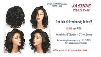 September Specials On Virgin Hair