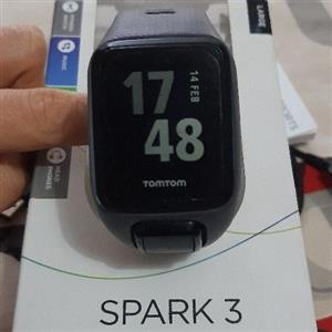 Tomtom Spark 3 (Cardio +Music) GPS watch for sale